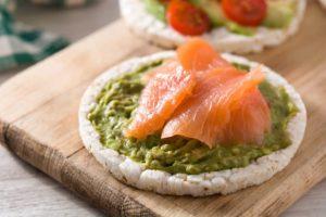 salmon guacamole