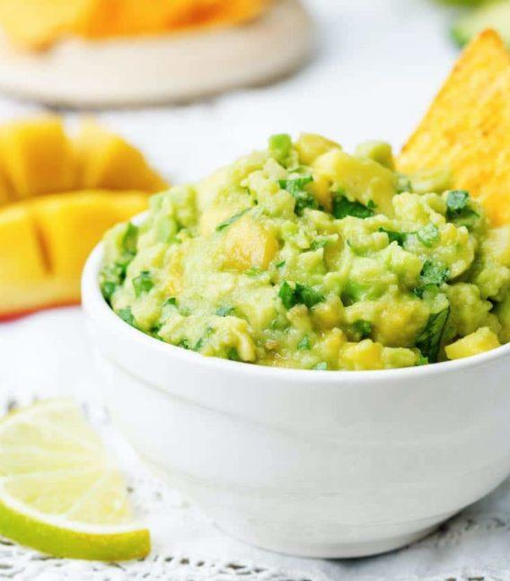 receta de guacamole con mago