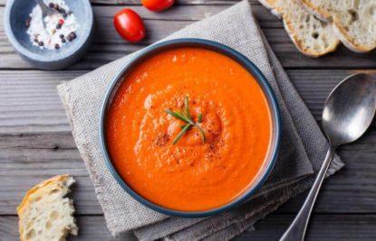 Ingredientes gazpacho envasado