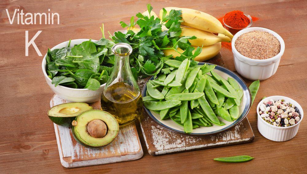 alimentos que contienen vitamina k
